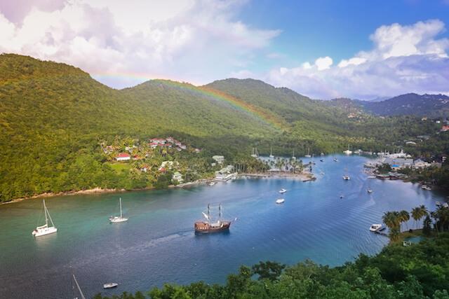 Saint Lucia - Marigot Bay