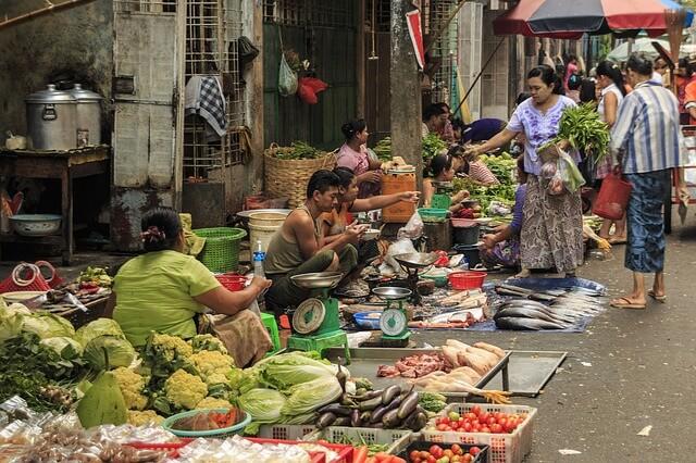 Myanmar- Markt