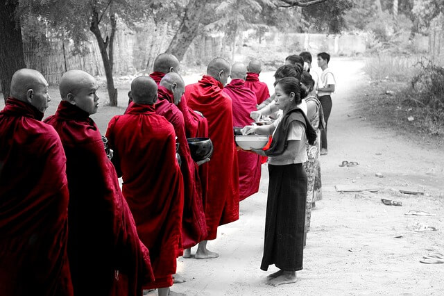 Myanmar - Mönche