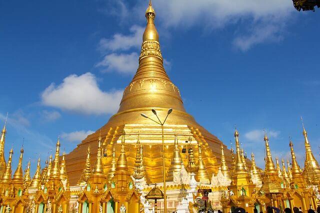 Myanmar - Myanmar_Shwedagon_Pagode