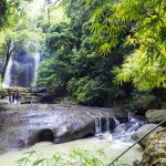 Saint Lucia - Wasserfall