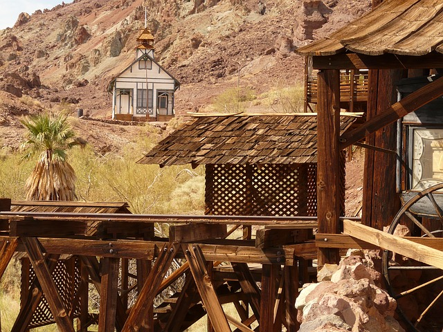 USA - Kalifornien - Calico Ghost Town