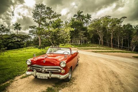 Kuba, Auto, Strassenkreuzer