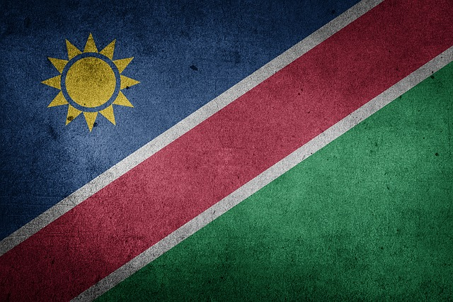Namibia - Flagge
