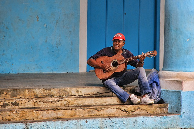 Kuba - Strassenmusiker