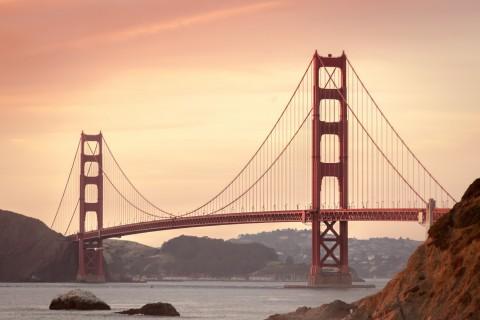 USA, Golden Gate Brücke, Kalifornien