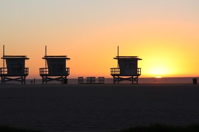 USA - Kalifornien - Strand
